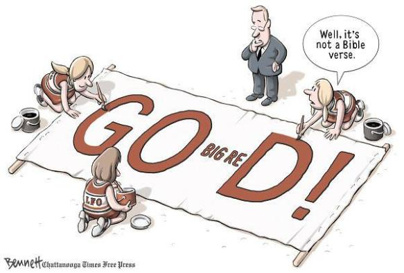 The New Banner by Clay Bennett